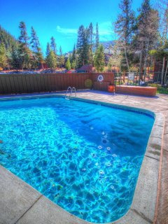 Pool Area - The outdoor Wild Irishman Pool area has a lot of seating and picnic tables.  It is heated and open year...