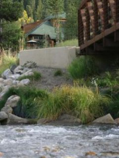Near the Snake River - This condo is located right on the bike path where it crosses the Snake River.  An easy stroll...