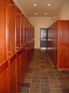 Ski Lockers - You can store your skis on the ground floor in your own ski locker in the locker room.