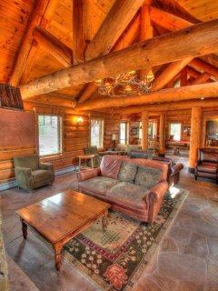 Minnie's Cabin Interior - Make new friends from around the world in Minnie's Cabin.