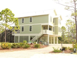 Canal Front with Boat Lift, Pool, Outdoor Kitchen,, St George Island