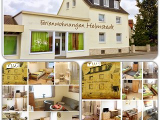 FeWo TW1 u. TW2 in Helmstedt  (2x 65qm, je 2 Duschbader mit WC, je bis 6 Pers.)