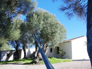 Villa with huge garden (no neigbors) at 20 minutes from beaches and rocky bays.
