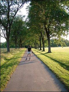 great trails for biking or jogging