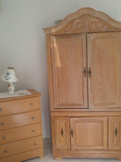 Commode and wardrobe