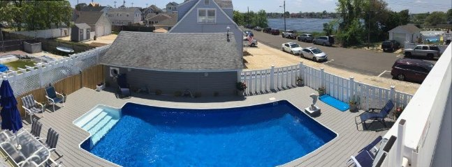Beautiful pool and deck