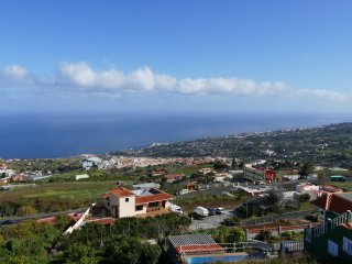 Apartment with top sea view, La Palma East side, Brena Alta - Botazo