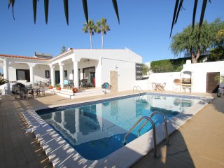 Fantastic 3 bedroom villa with pool, sea views FREE air con and wi fi