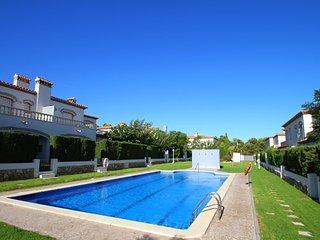 C06 BOSTOR adosado con jardín, barbacoa y piscina, Miami Platja