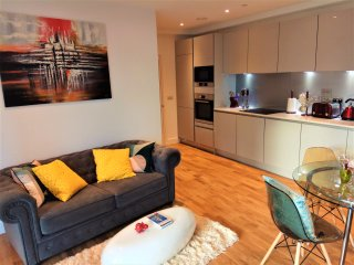 New luxury two bed apt next to zone 2 station, London