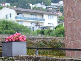 Zentral und ruhig gelegene Ferienwohnung oberhalb der historischen Stadtmauer