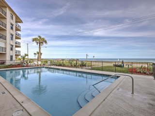 Oceanfront Ormond Beach Condo w/ Balcony & Pool!