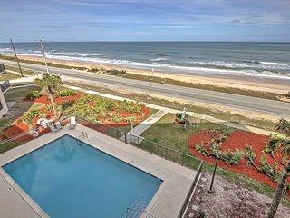 Oceanfront Ormond Beach Condo w/ Balcony & Pool!