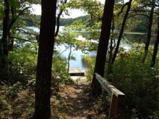 Mid-Century Modern Truro on Great Pond