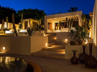 Casa Alcini  – Private Spanish Style Beachfront Vacation Home, Cabo San Lucas