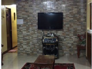 Living area with Free Videoke and Bar counter