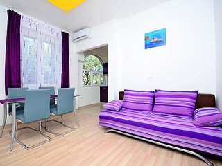 Apartment XL - three bedroom apartment with balcony - 8 p