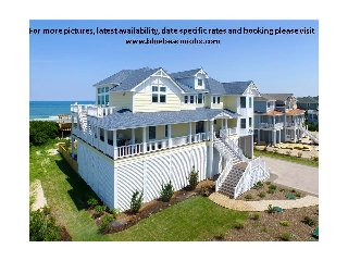 10 BR Oceanfront Ultimate Luxury Pool Corolla