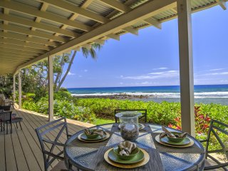 Oceanfront Beach House with Snorkel Lagoon, Poipu