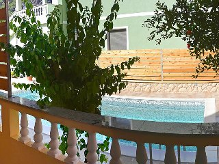 Apartment in the center of Banjol with Internet, Parking, Terrace (112981)