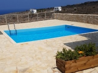 Villa in Chania with Terrace, Internet, Parking, Washing machine (119505), Drapanos