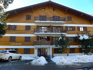 Apartment in Bagnes with Internet, Lift, Parking, Balcony (345397)