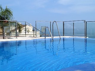"""Apartment a short walk away (104 m) from the """"Playa Bella"""" in Estepona with"""