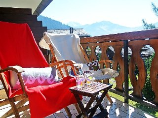 Apartment in Bagnes with Internet, Parking, Garden, Balcony (37247)