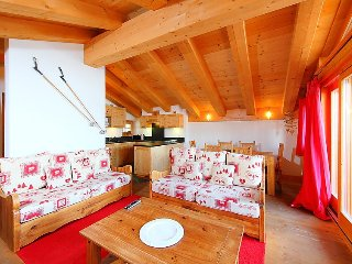 Apartment in Bagnes with Internet, Parking, Balcony, Washing machine (37235)