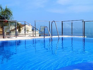 """Apartment a short walk away (110 m) from the """"Playa Bella"""" in Estepona with"""
