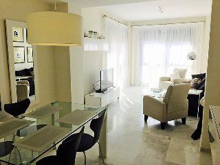 """Apartment a short walk away (66 m) from the """"Playa Bella"""" in Estepona with"""