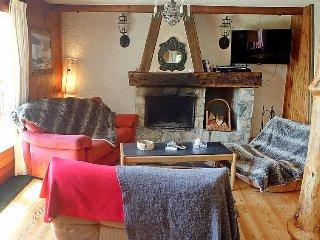 Villa in Bagnes with Terrace, Internet, Parking, Balcony (516568)