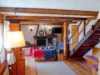 Villa in Bagnes with Internet, Parking, Terrace, Balcony (516568)