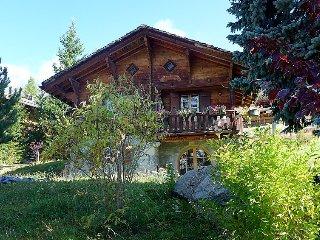 Villa in Bagnes with Internet, Parking, Terrace, Garden (529414)