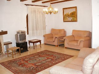 """Villa a short walk away (112 m) from the """"Playa de Les Bovetes"""" in Dénia with"""