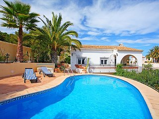 """Villa a short walk away (317 m) from the """"Cala Les Bassetes"""" in Calp with"""