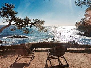 Chalet a primera linea del mar en la Costa Brava