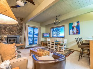 Beautiful True Ski In/Out 2 Bedroom Condo, Steamboat Springs