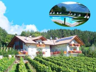 Kerschbamerhof mit Panoramablick, großem Pool, Tiere, Weinkeller,Spielplatz,...