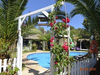 Villa Eulalia is set in private lush gardens walking distance to Beaches., Santa Eulalia del Rio