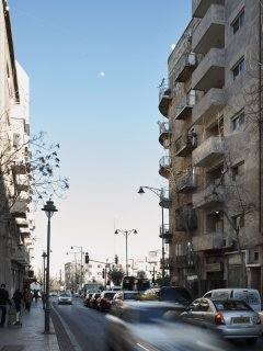 CENTER CITY JERUSALEM APARTMENT BALCONY 4P