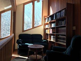 Bright and Beautiful - 8 person Jacuzzi, fireplace, wifi, fully stocked kitchen, Bushkill
