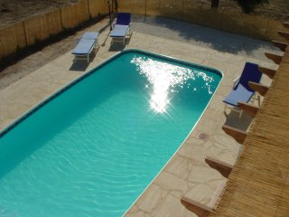 A modern, attractive 3 bed villa about 2km from the sea near the main village