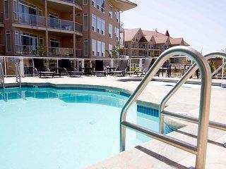 South Facing 2 bedroom King suite 440 at Discovery Bay Resort Kelowna BC