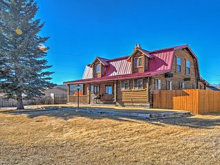 'Red Roof Retreat' Panguitch Home-Yard & 2 Porches