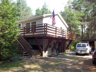Lake Placid Private Home Surrounded by Nature, R&R,