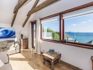 Bayview Cottage Penzance with great sea views over the Bay