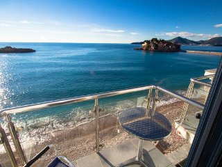 Amazing apartment on the sea foam,Sveti Stefan #BA