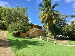 Bright, open house just steps from the beach., Vieques