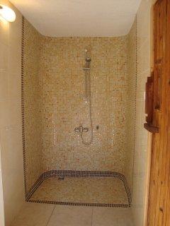 Shower next to Sauna